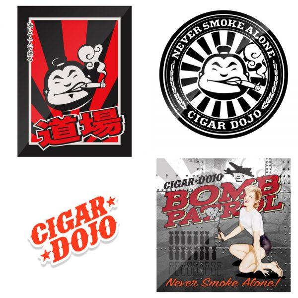 Cigar Dojo Sticker Pack