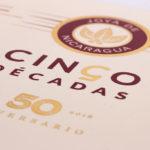Joya de Nicaragua Cinco Décadas El General box lid