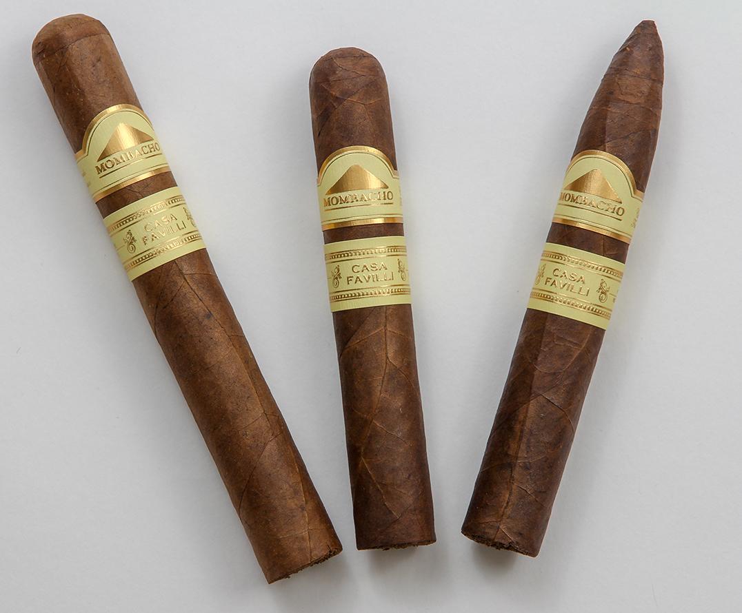 Mombacho Casa Favilli cigar lineup