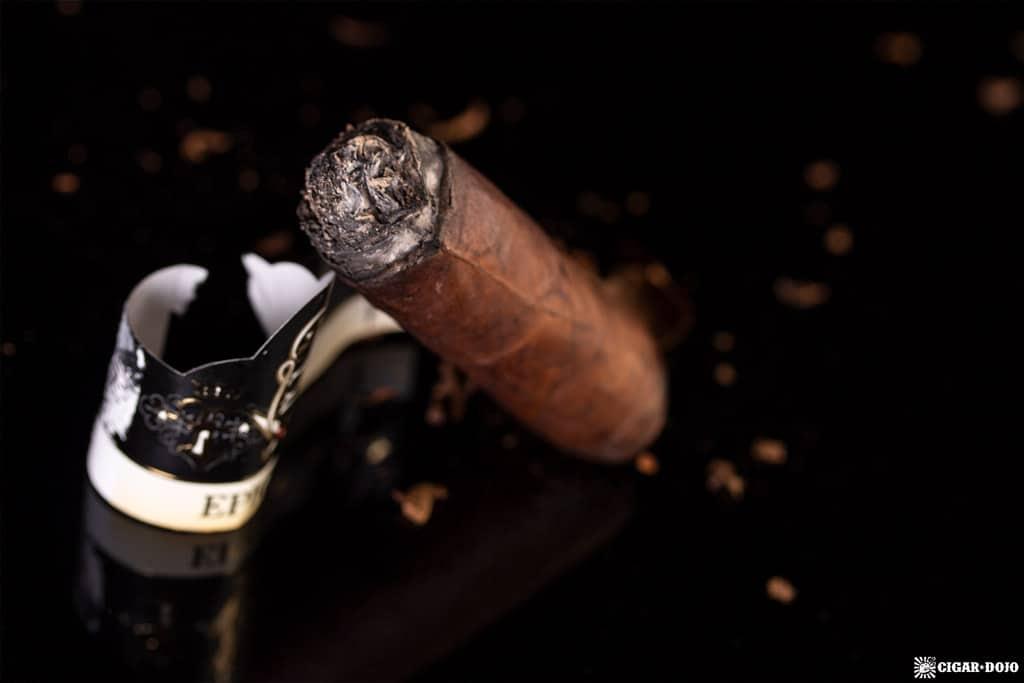 Crux Epicure Maduro Toro cigar nubbed