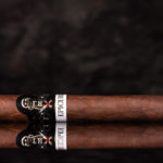 Crux Epicure Maduro Toro cigar side view