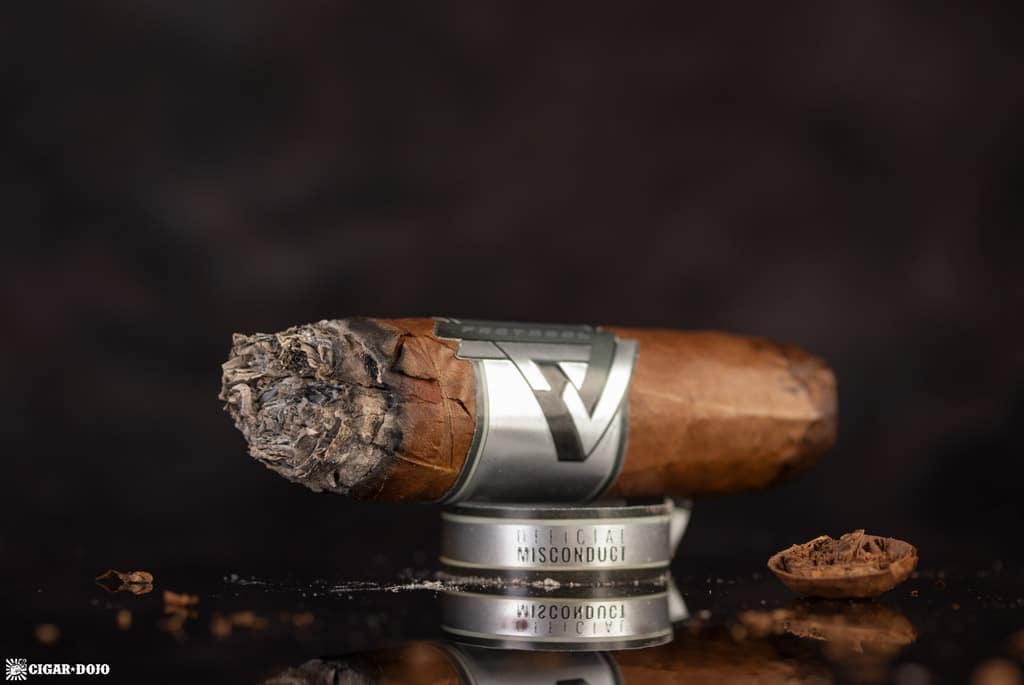 Protocol Official Misconduct Toro cigar nubbed