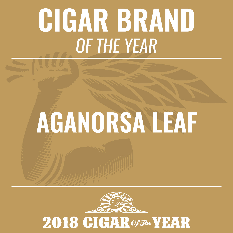 Aganorsa Leaf Cigar Brand of the Year 2018