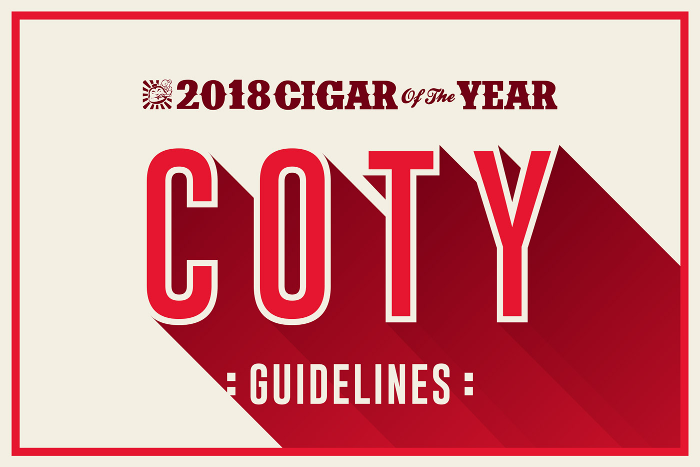 Cigar of the Year Guidelines 2018