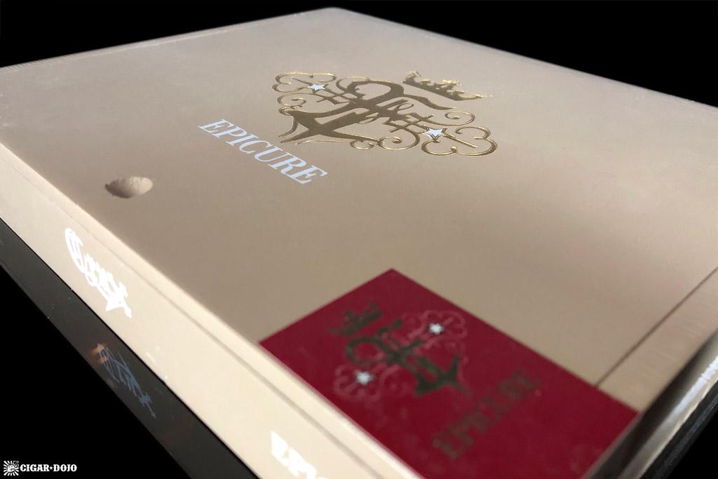 Crux Epicure Toro cigar box
