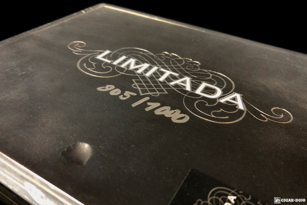 Crux Limitada PB5 2018 cigar box