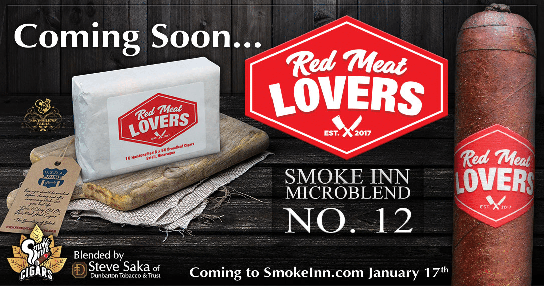 Smoke Inn Red Meat Lovers Club Microblend promo
