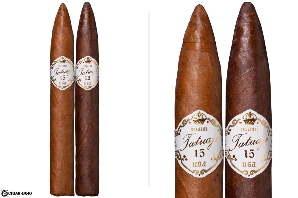 Tatuaje 15th Anniversary Torpedo Grande comparison