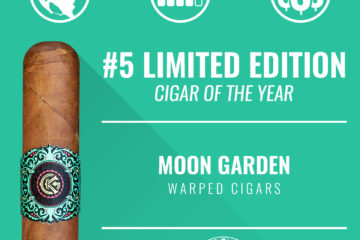 Warped Moon Garden No. 5 Limited Edition Cigar of the Year 2018