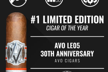 AVO LE05 30th Anniversary No. 1 Limited Edition Cigar of the Year 2018