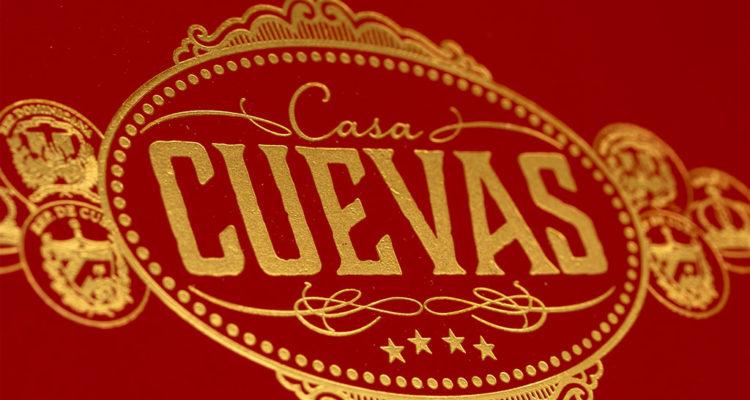 Casa Cuevas Habano Clásico Prensado cigar box lid
