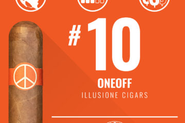 Illusione OneOff No. 10 Cigar of the Year 2018