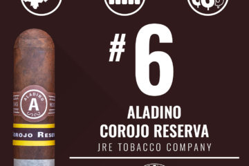 JRE Aladino Corojo Reserva No. 6 Cigar of the Year 2018