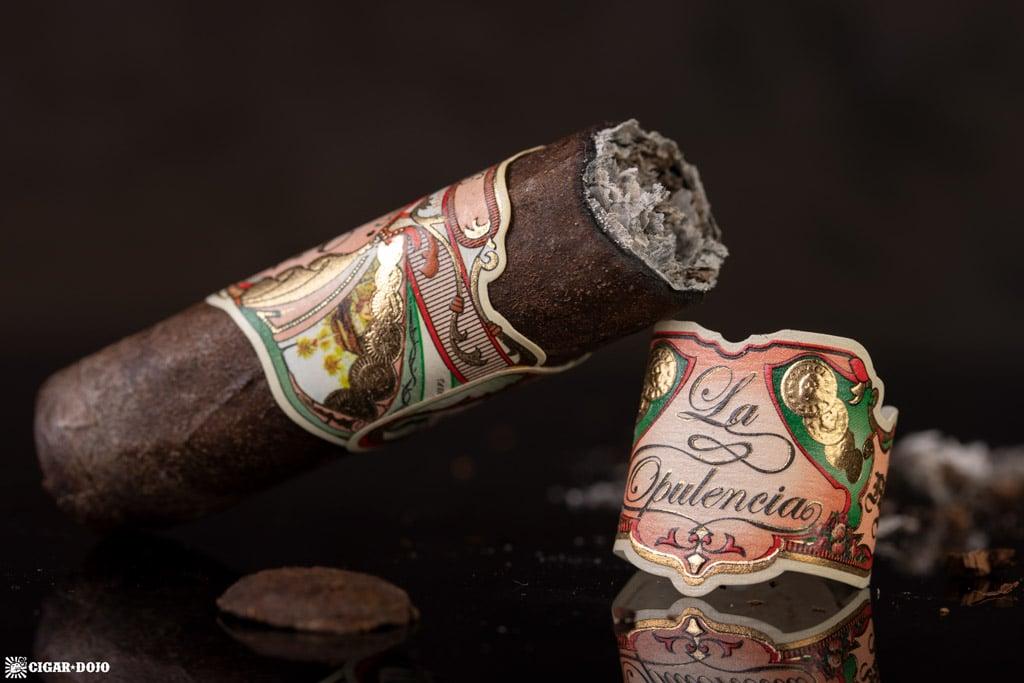 My Father La Opulencia Robusto cigar finished