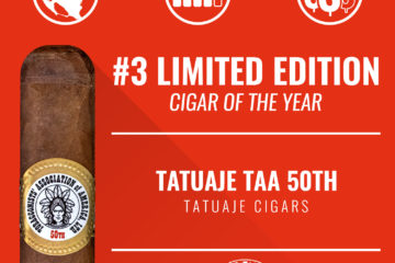 Tatuaje TAA 50th No. 3 Limited Edition Cigar of the Year 2018