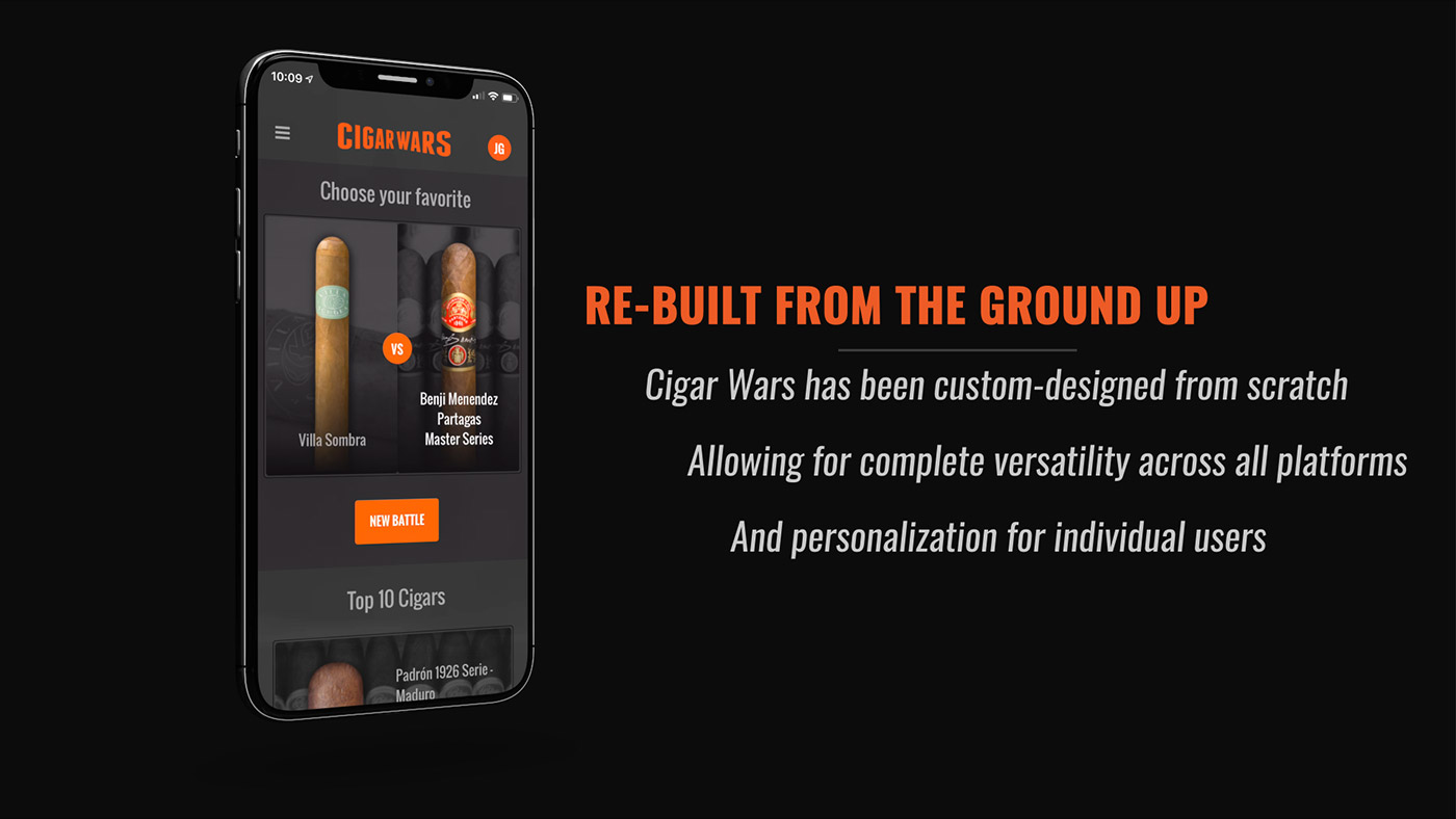 Cigar Wars Re-built from the Ground Up Graphic