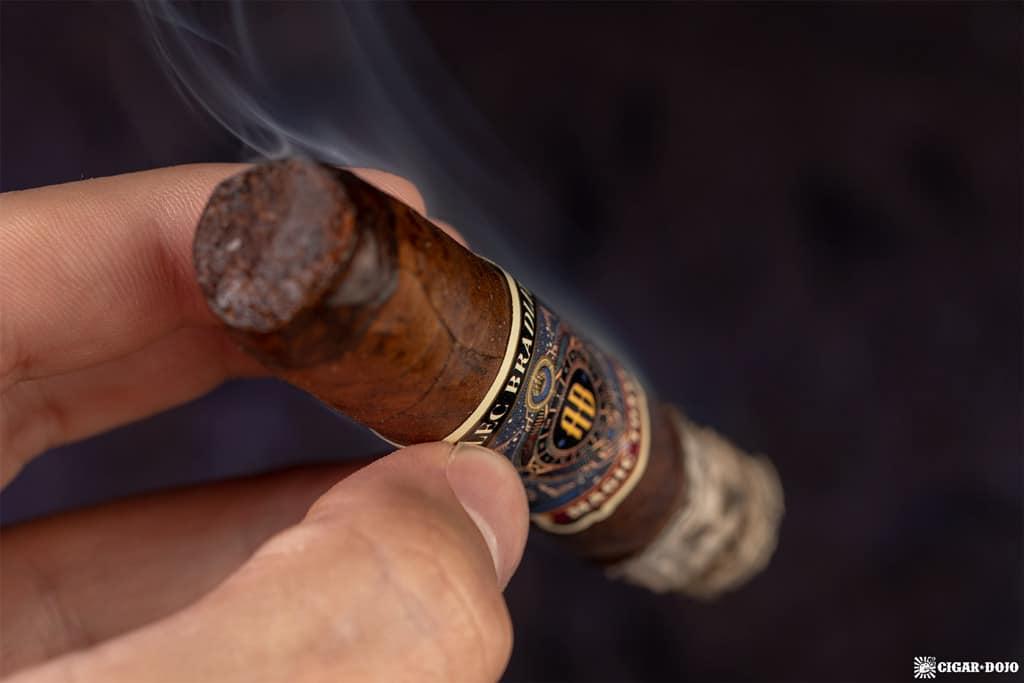 Alec Bradley Magic Toast Robusto cigar smoking