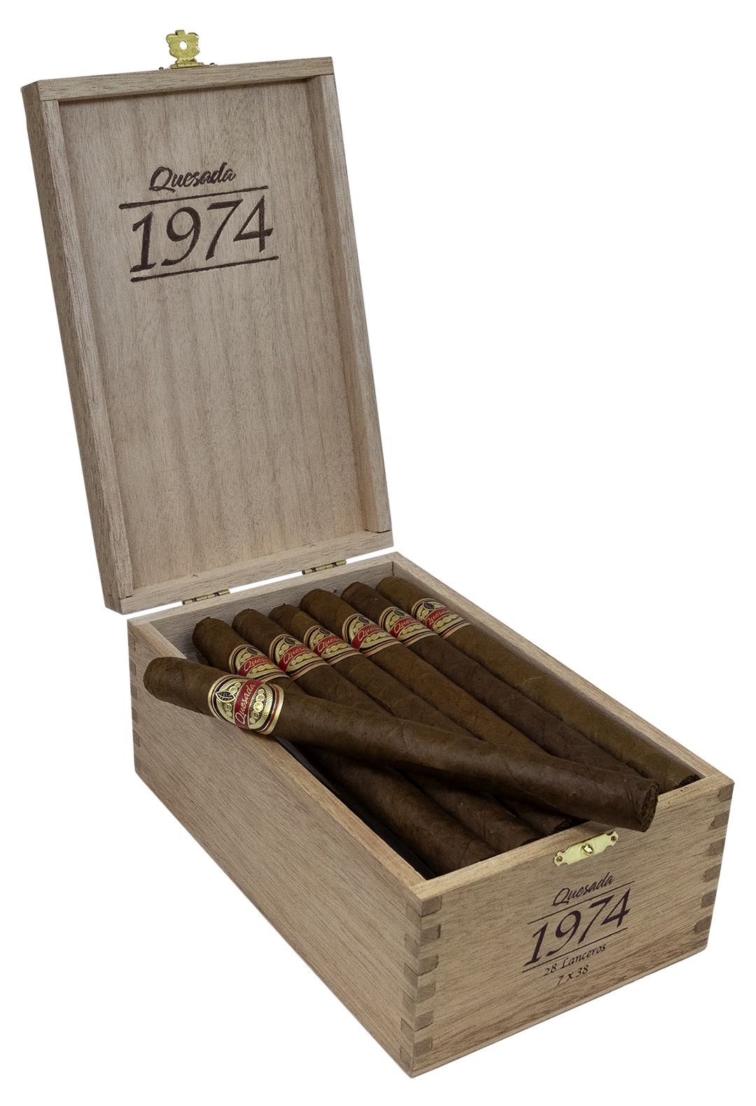 Quesada 1974 box open