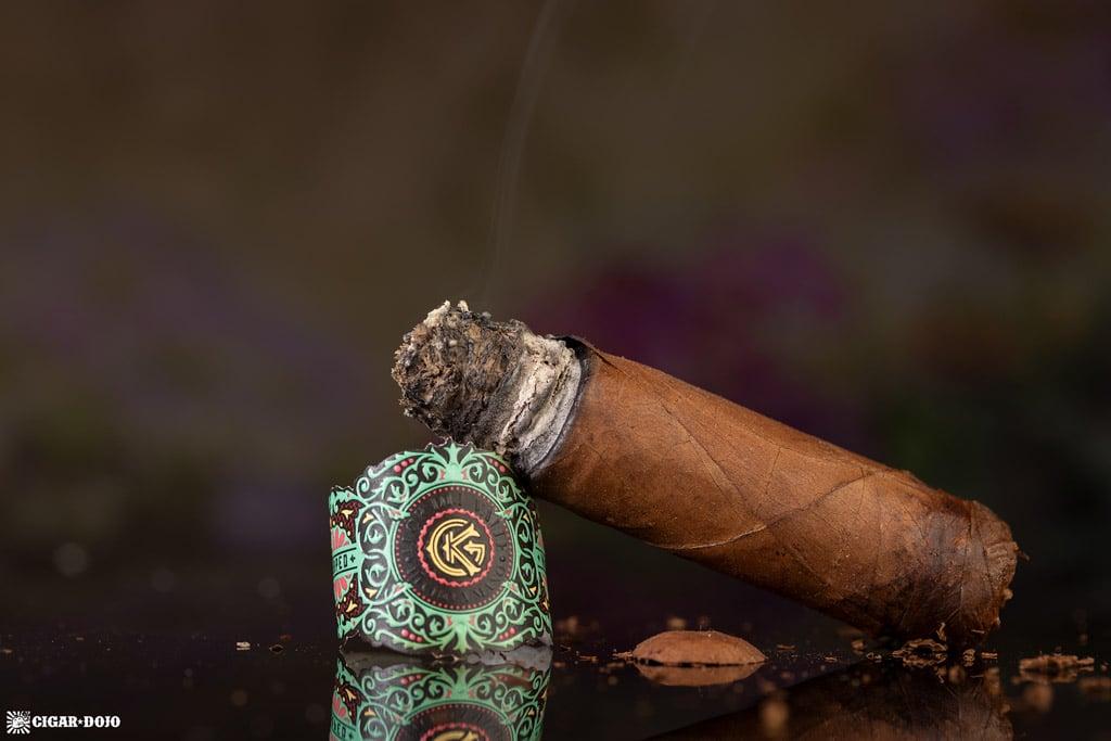 Warped Moon Garden cigar nub finished