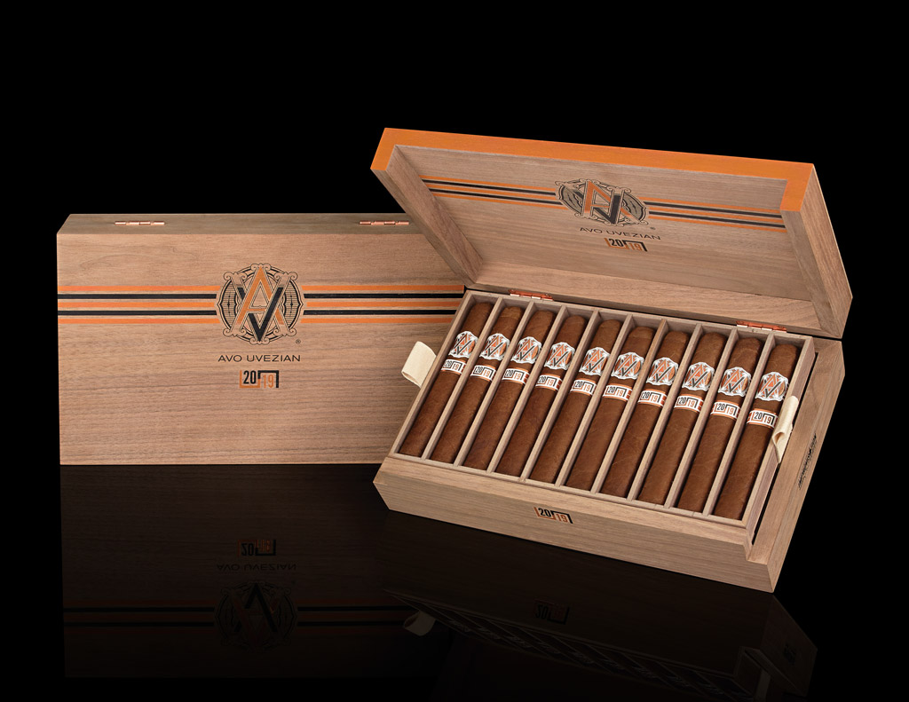 AVO Cigars Improvisation Series LE19 cigar box open