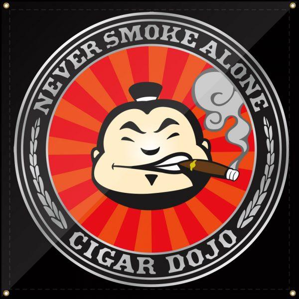 Cigar Dojo Banner 2019 3x3