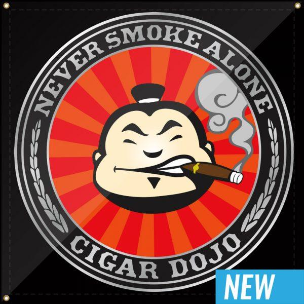 Cigar Dojo Banner 2019 3x3 NEW