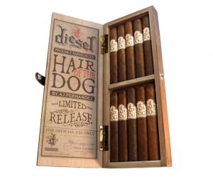 Diesel Hair of the Dog cigar box open