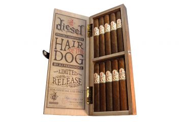Diesel Hair of the Dog cigar box open
