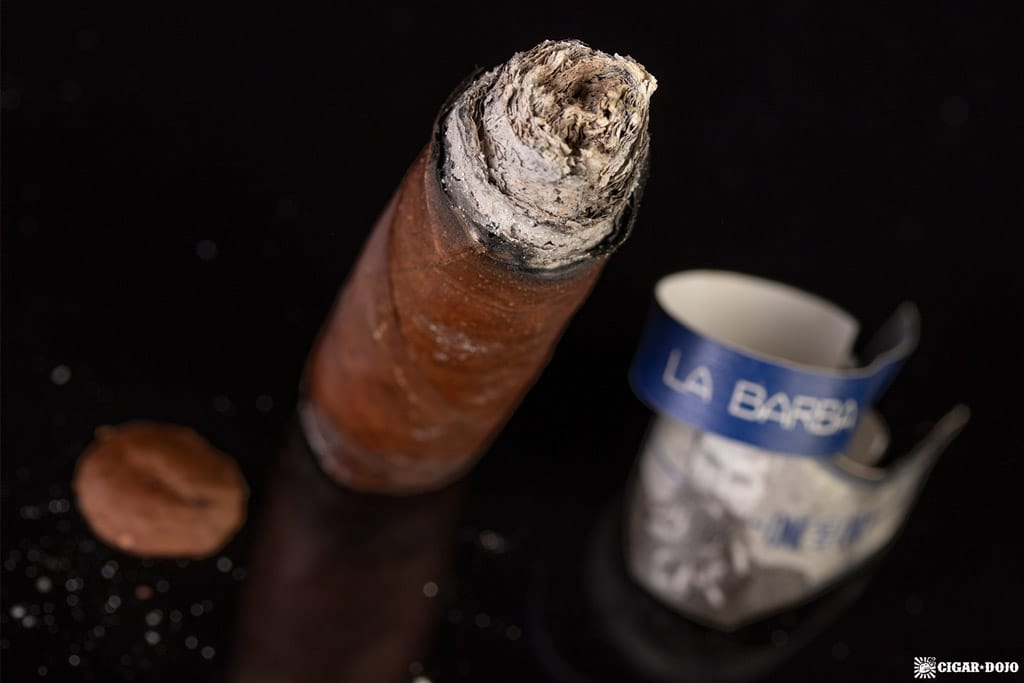 La Barba One and Only (2018) cigar nub finished
