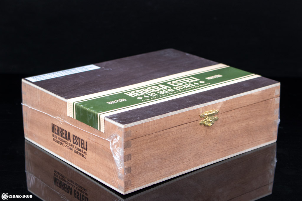 Herrera Esteli Norteño cigar box