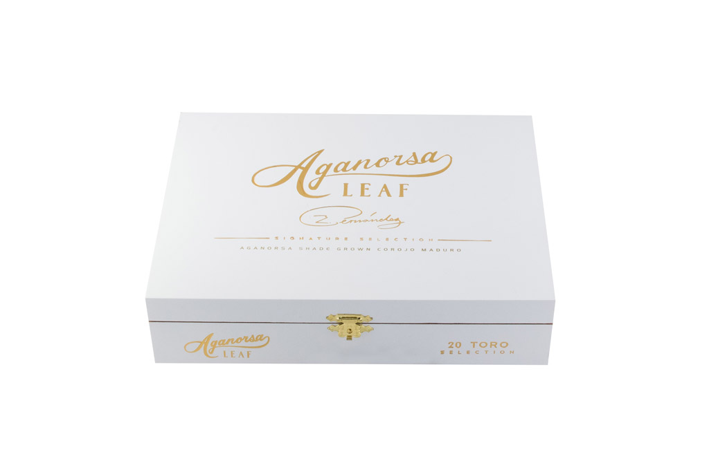Aganorsa Leaf Signature Maduro cigar box