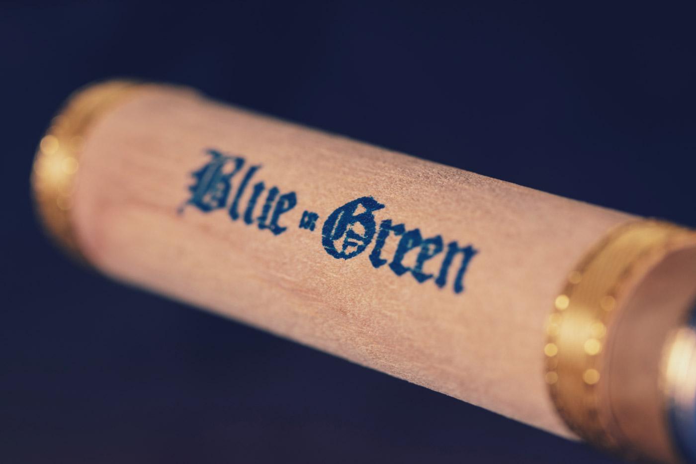 Gran Habano Blue in Green Gran Robusto cigar review