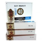 Alec Bradley Project 40 cigar boxes
