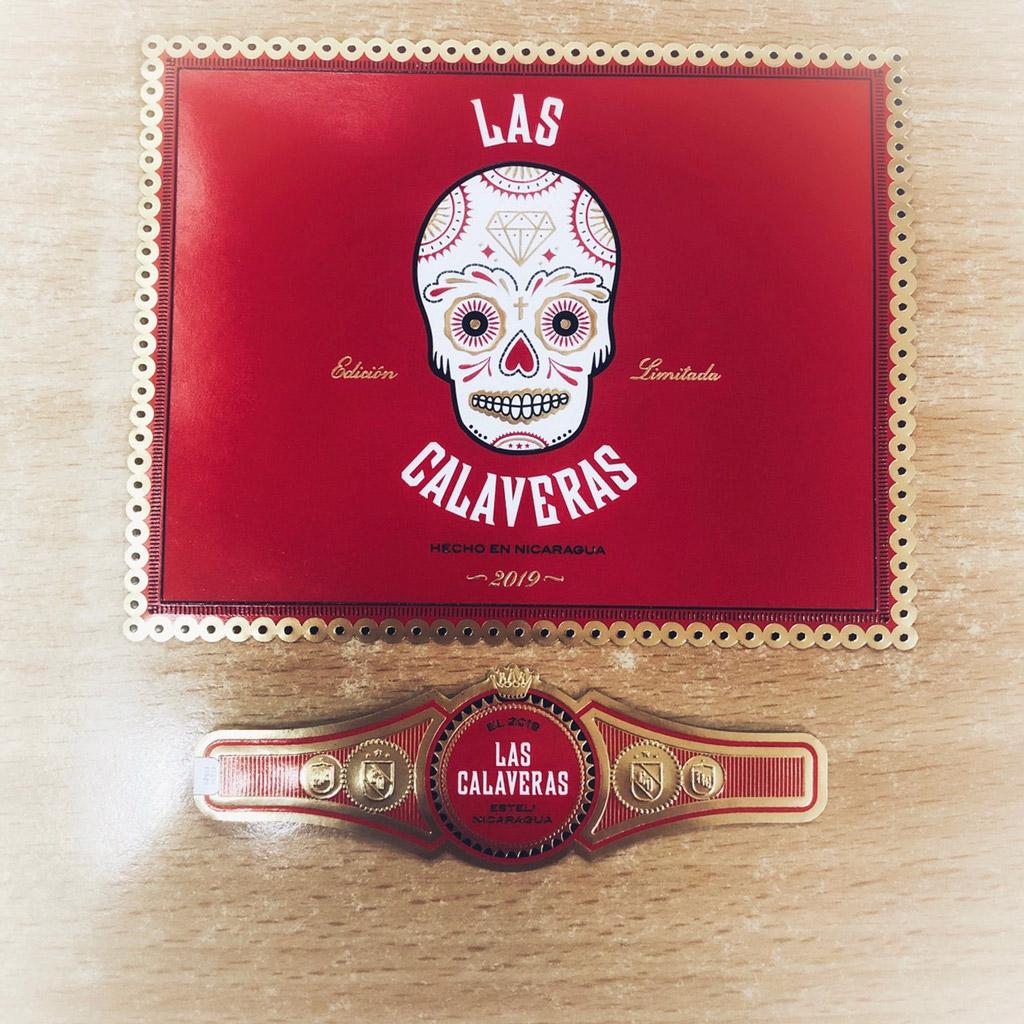 Crowned Heads Las Calaveras Edición Limitada 2019 packaging design