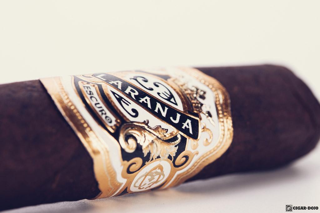 Espinosa Laranja Reserva Escuro Corona Gorda cigar band