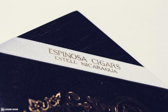 Espinosa Laranja Reserva Escuro Corona Gorda box label
