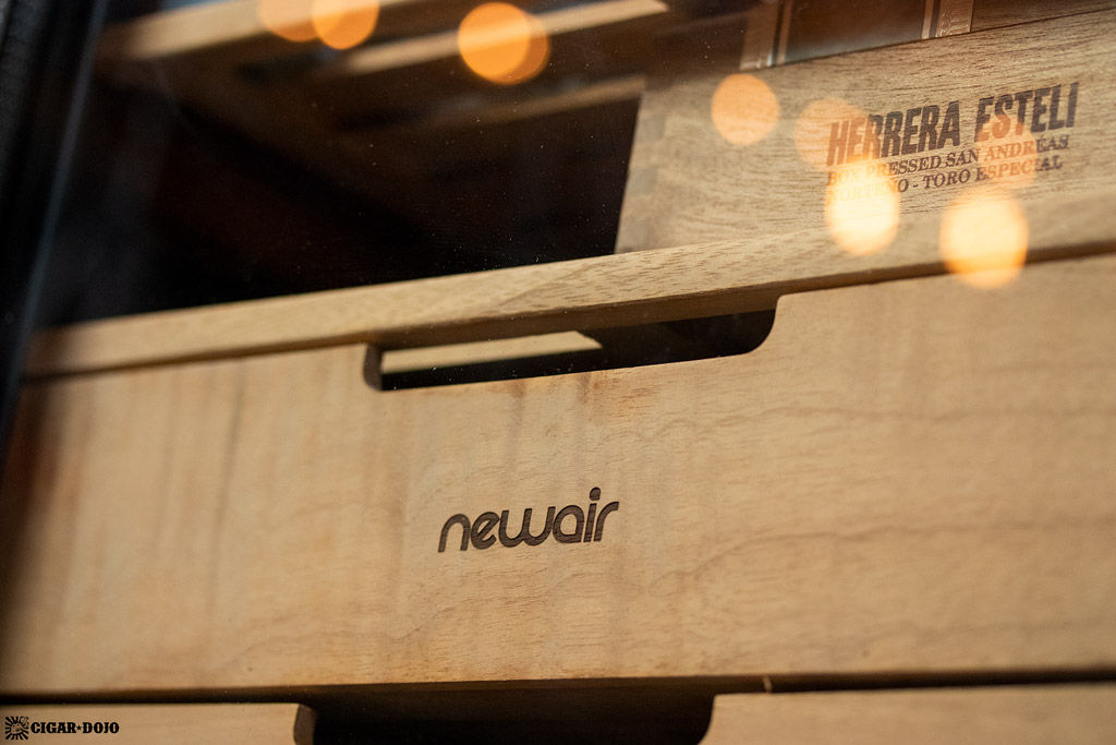 NewAir CC-300H humidor drawer front