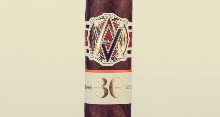 AVO LE 30 Years Signature Double Corona cigar review