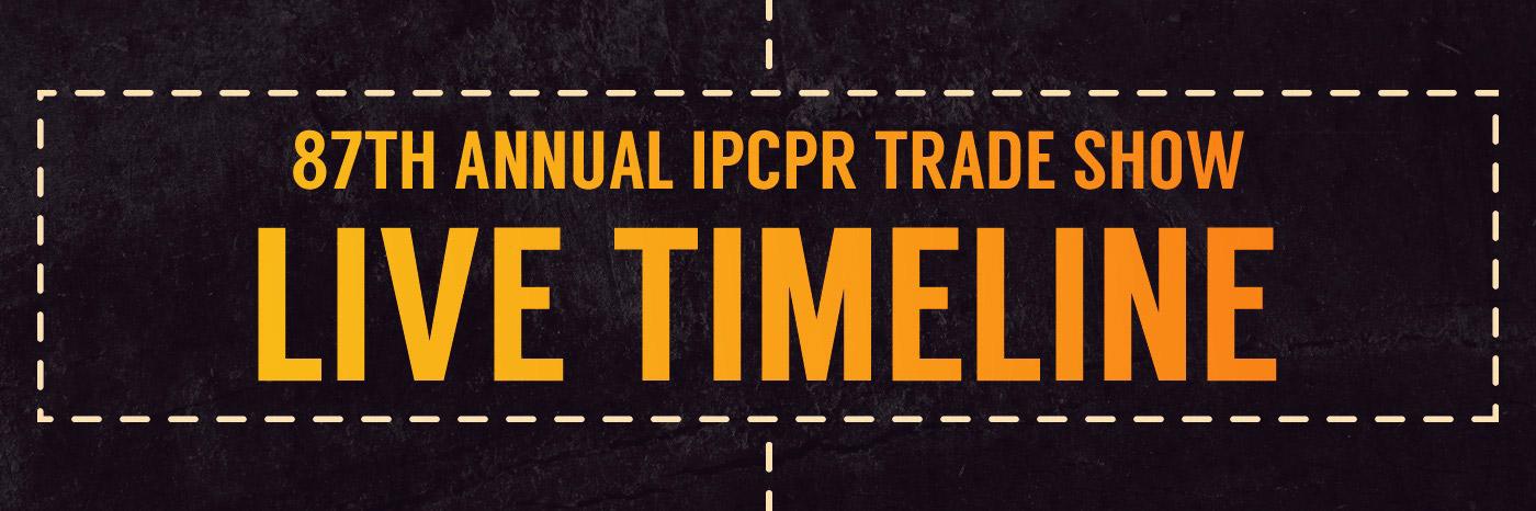 IPCPR 2019 Live Timeline
