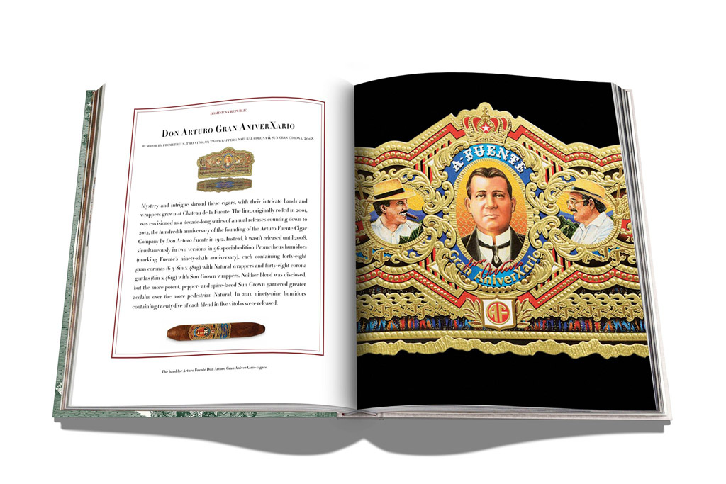 Impossible Collection of Cigars book Arturo Fuente pages