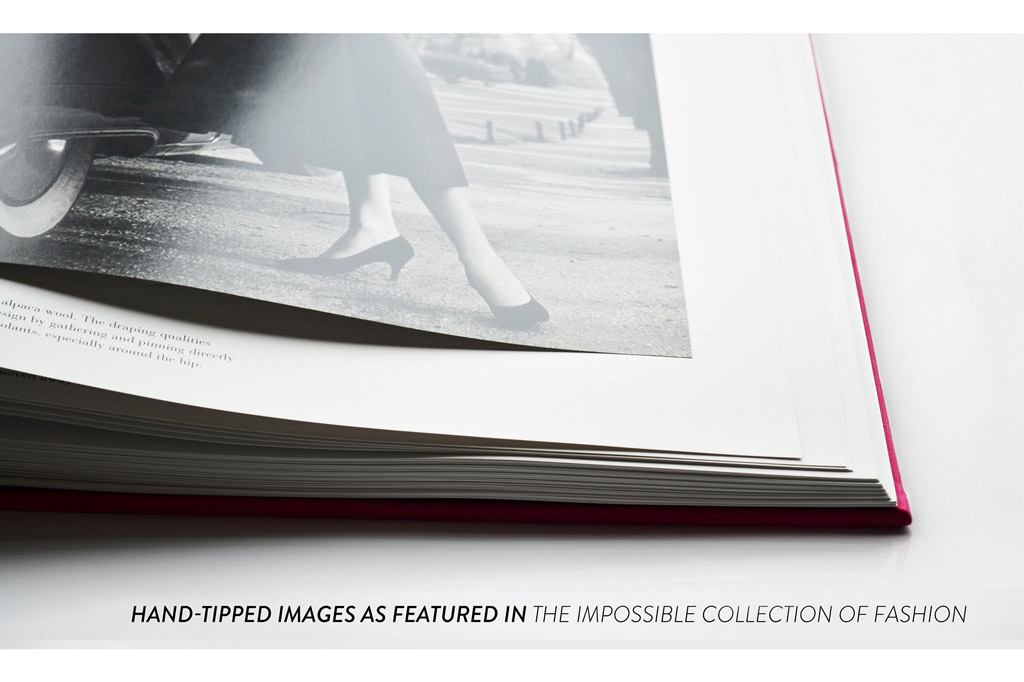 Impossible Collection of Cigars book hand-tipped pages