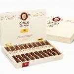 Joya de Nicaragua Cinco Décadas Fundador cigar box open