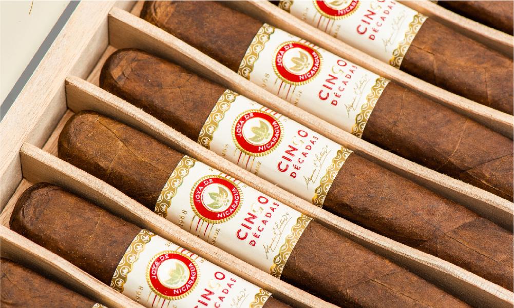 Joya de Nicaragua Cinco Décadas Fundador cigars