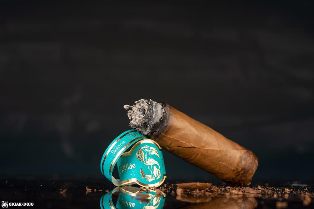 Matilde Serena Corona cigar nub finished