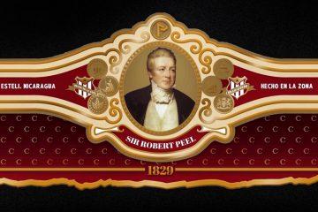 Cubariqueño Cigar Co. Protocol Sir Robert Peel band official
