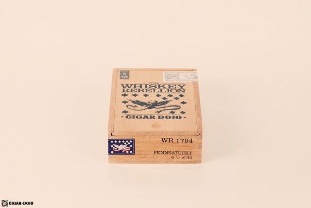 RoMa Craft Whiskey Rebellion 1794 Pennsatucky cigar box