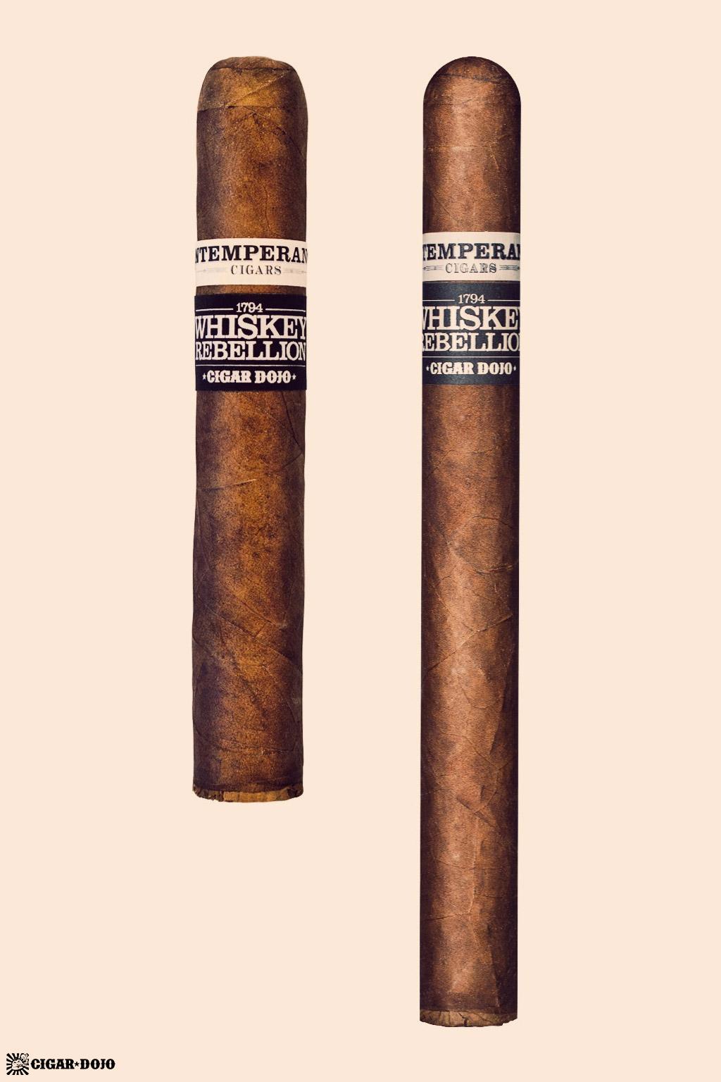 RoMa Craft Whiskey Rebellion 1794 cigar comparison