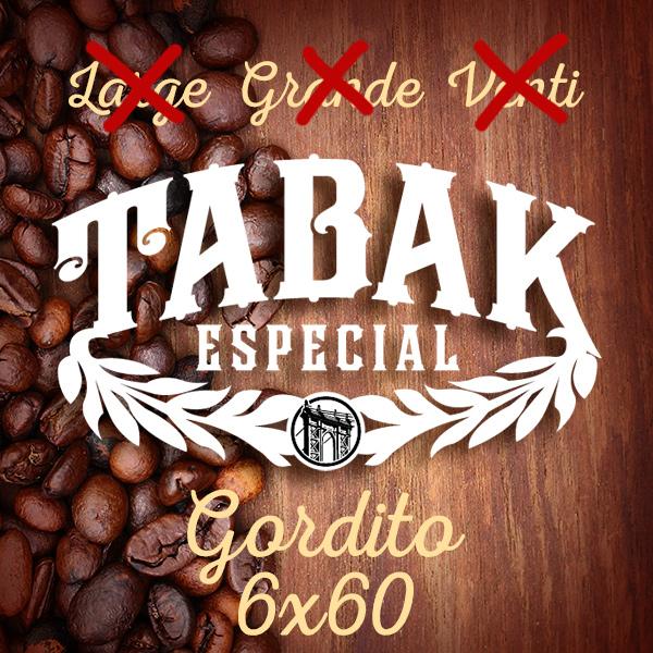 Drew Estate Tabak Especial Gordito size addition
