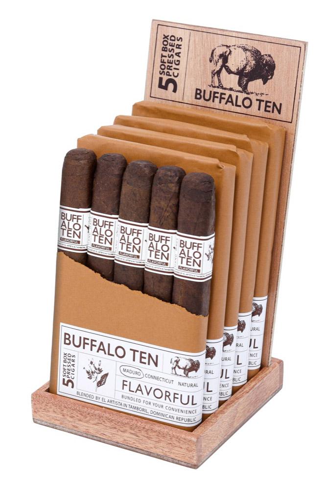 El Artista Buffalo TEN retail display