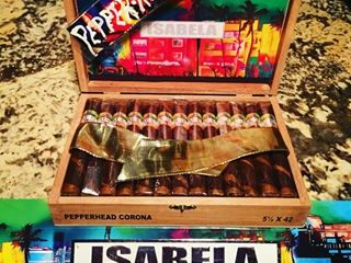 Isabela Cigar Co. Pepper-Head 2019 official